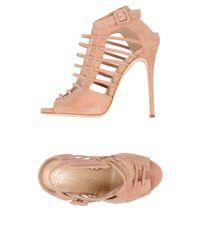 Sandalias Giuseppe Zanotti de color Pink