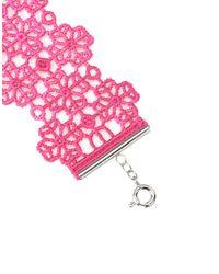 Cruciani - Pink Bracelet - Lyst