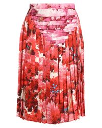 Marco De Vincenzo Orange 3/4 Length Skirt