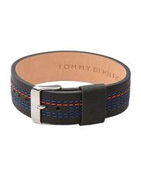 Tommy Hilfiger - Black Bracelet for Men - Lyst