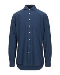 Camicia di Hackett in Blue da Uomo