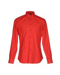 Vivienne Westwood - Red Shirt for Men - Lyst