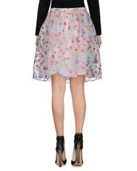 RED Valentino Pink Knee Length Skirt