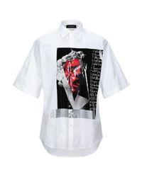 Camicia di DSquared² in White da Uomo