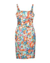 Boutique Moschino Green Knee-length Dress