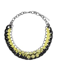 Ki6? Who Are You? - Green Necklace - Lyst