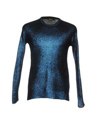DKNY Blue Sweaters for men