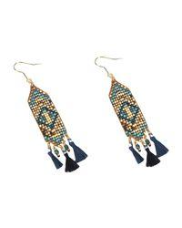 Mishky - Metallic Earrings - Lyst