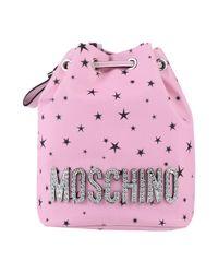 Moschino Pink Umhängetasche