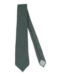 Cravatta di Fiorio in Green da Uomo