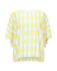 Blusa Anonyme Designers de color Yellow