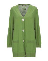 Cardigan di Maliparmi in Green