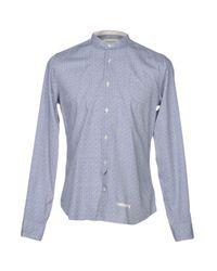 Tintoria Mattei 954 Gray Shirt for men