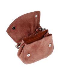 Jil Sander Pink Cross-body Bag
