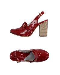 Accademia - Red Loafer - Lyst