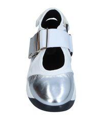 Sneakers & Tennis shoes basse di Erika Cavallini Semi Couture in White