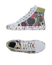 Springa Gray High-tops & Sneakers