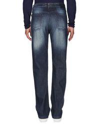 Kiton Blue Denim Pants for men