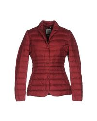Geox Red Down Jacket