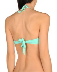 Raffaela D'angelo - Green Bikini Top - Lyst
