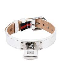 Tommy Hilfiger - White Bracelet - Lyst