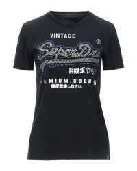 T-shirt di Superdry in Black