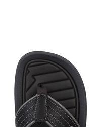 Rider - Black Toe Post Sandal for Men - Lyst