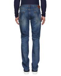 Just Cavalli Blue Denim Trousers for men