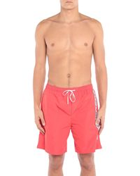Bañadore tipo bóxer DSquared² de hombre de color Red