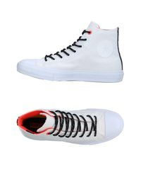 Converse White High-tops & Sneakers for men