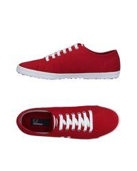 Sneakers & Deportivas Fred Perry de hombre de color Red