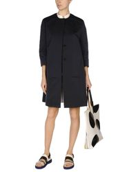 Marni Blue Overcoat