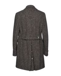 Roda Gray Coat for men