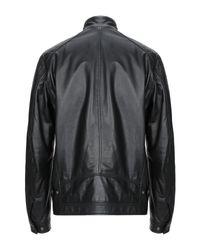 Bugatti Black Jacket for men