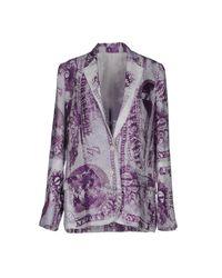 Acne Purple Blazers