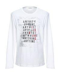 T-shirt di Iceberg in White da Uomo