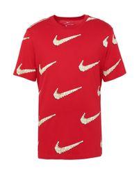Nike T-shirts in Red für Herren