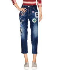 DSquared² Blue Denim Capris