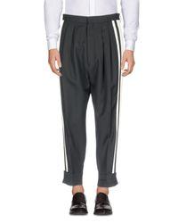 Haider Ackermann Black Casual Trouser for men