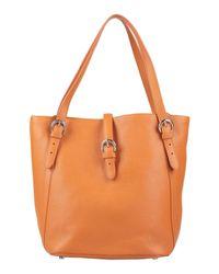 Bolso de mano Eleventy de color Orange