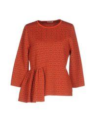 Dries Van Noten Red Sweater