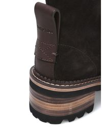 See By Chloé Gray Ankle Boots