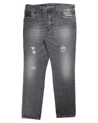Pantaloni jeans di 2W2M in Gray da Uomo