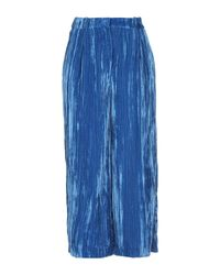 Pantalones Annarita N. de color Blue