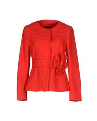 Boutique Moschino Red Suit Jacket