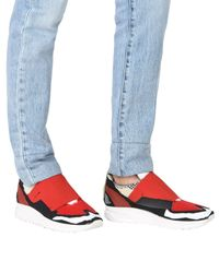 Maison Margiela Red Low-tops & Sneakers for men