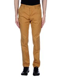 AT.P.CO Brown Casual Trouser for men