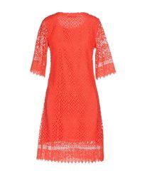 Darling - Red Short Dresses - Lyst