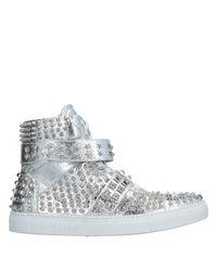 Philipp Plein Metallic High-tops & Sneakers for men