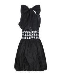 Vestito corto di W Les Femmes By Babylon in Black
